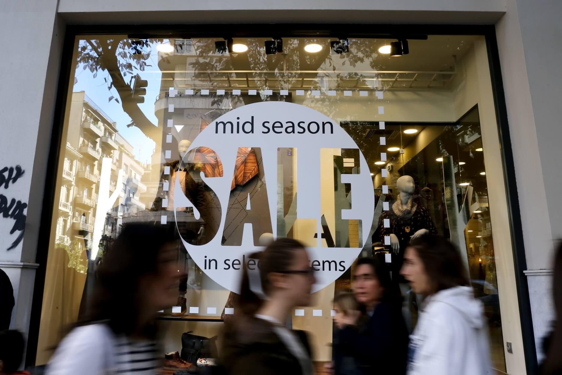 Κυριακή με ανοιχτά μαγαζιά σήμερα 05/05 – Εκπτώσεις μέχρι τις 15 Μαΐου