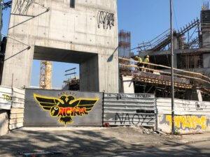 Γήπεδο ΑΕΚ: Τελειώνει και ο 4ος πυλώνας! «Όλα παίρνουν τη σειρά τους» video, pics