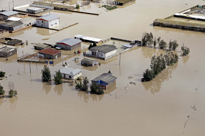 Ιράν - Πλημμύρες