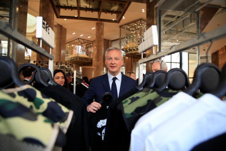 «Ευρωπαϊκή αυτοκρατορία» ανάμεσα σε Κίνα και ΗΠΑ ονειρεύεται την ΕΕ ο Γάλλος ΥΠΟΙΚ