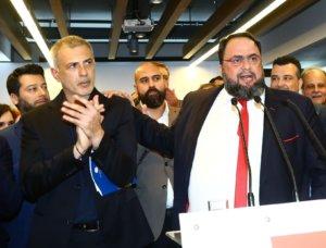 Δημοτικές εκλογές 2019: Υποψήφιος ξανά ο Μαρινάκης με τον Μώραλη