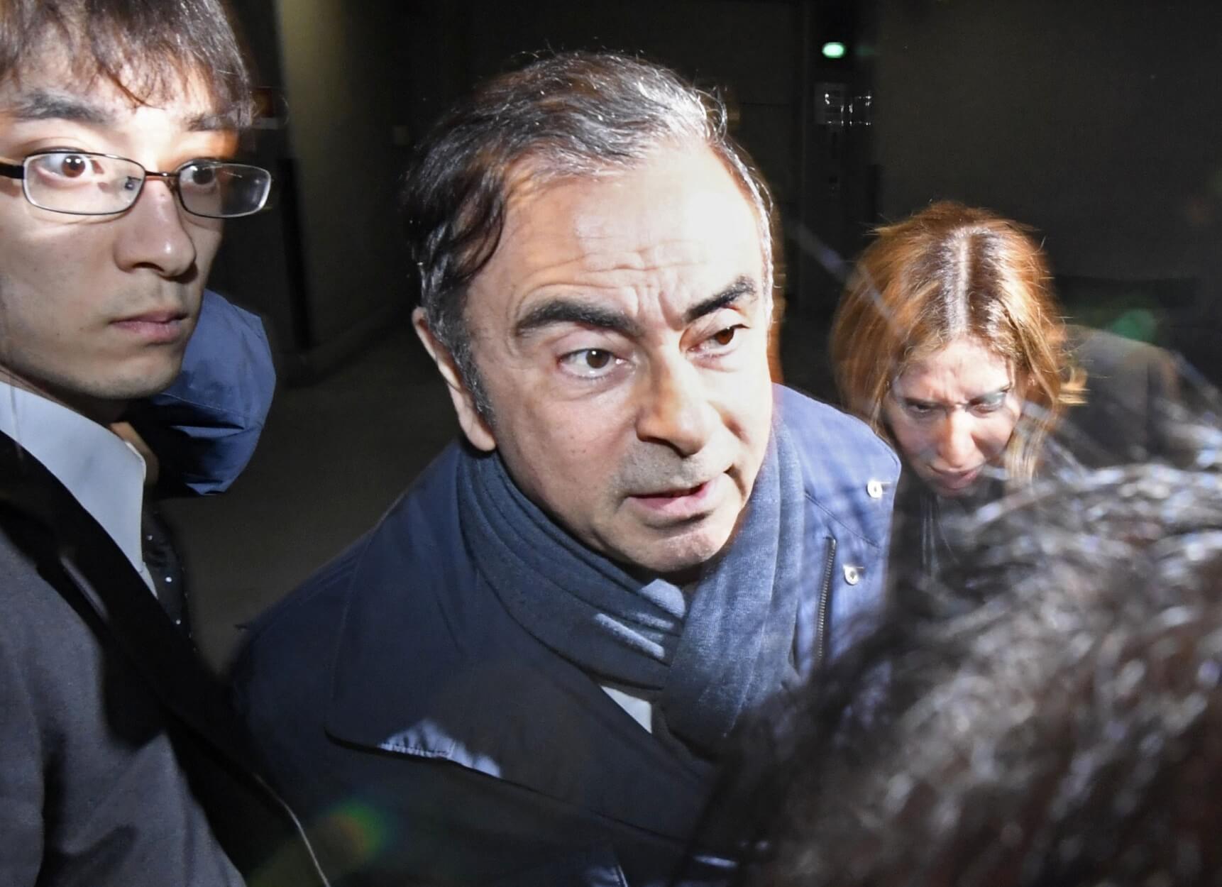 Ιαπωνία: Χειροπέδες και πάλι στον πρώην ισχυρό άνδρα της NISSAN!