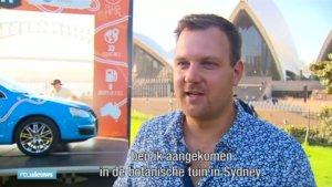 Ρεκόρ Γκίνες: Έκανε το γύρο του κόσμου με ηλεκτρικό αυτοκίνητο! Video