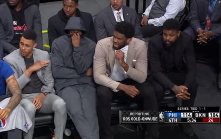 NBA: «Αερίστηκε» στον πάγκο και τους… κόπηκε η ανάσα! video