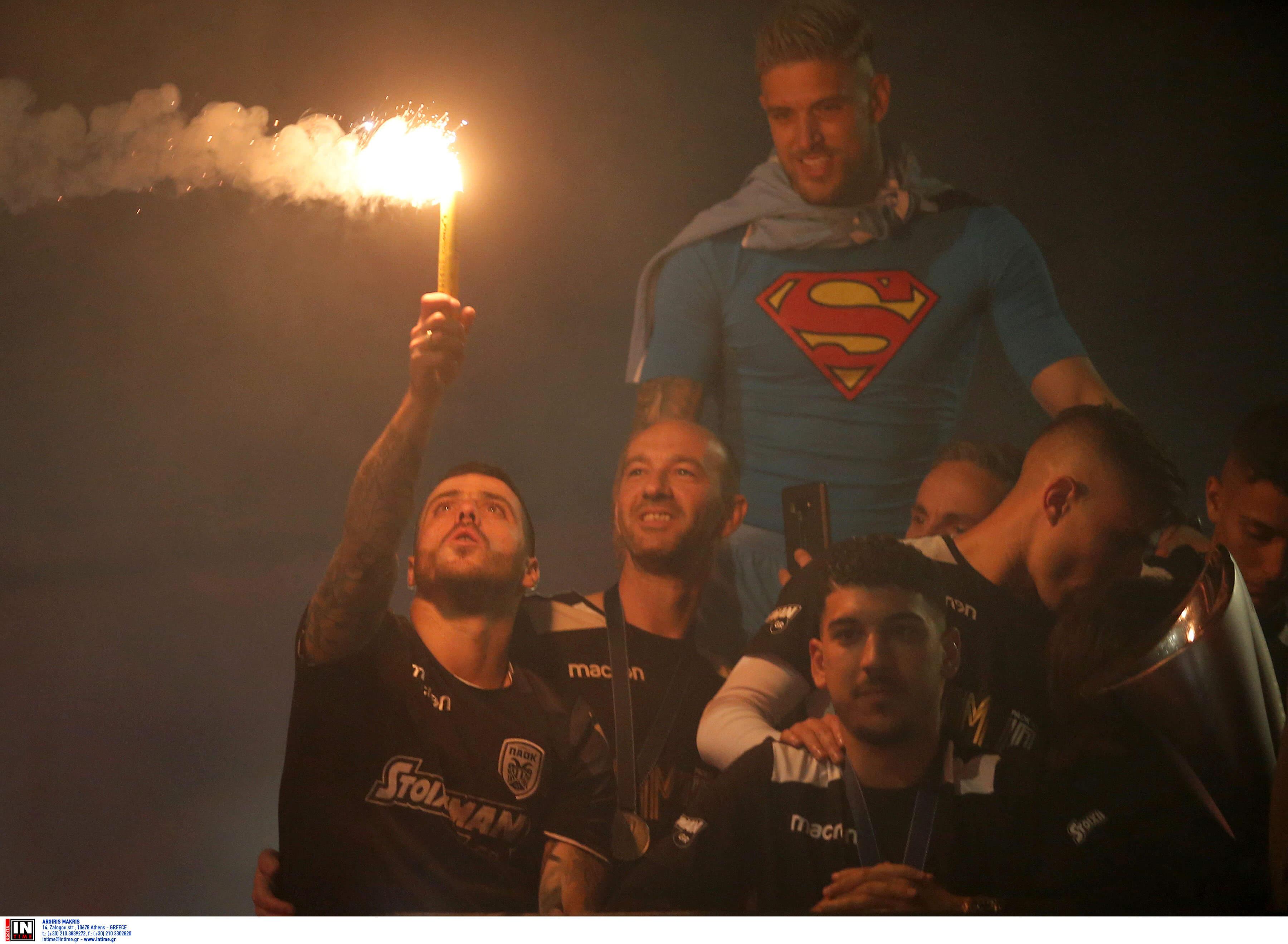"""Δεν κοιμήθηκε κανείς! Απίστευτο """"πάρτι"""" από ΠΑΟΚ – Ο Πασχαλάκης έδινε το… σύνθημα – videos, pics"""