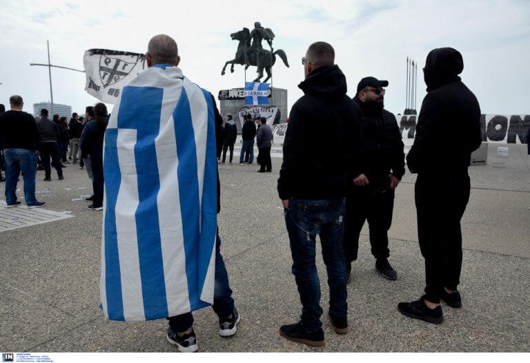 ΠΑΟΚ: Χωρίς… παλμό η συγκέντρωση για τη Μακεδονία! Video, pics