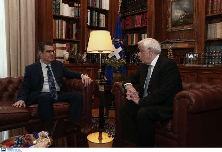 Συνάντηση Παυλόπουλου με τον νέο Πρόεδρο του ΕΔΔΑ