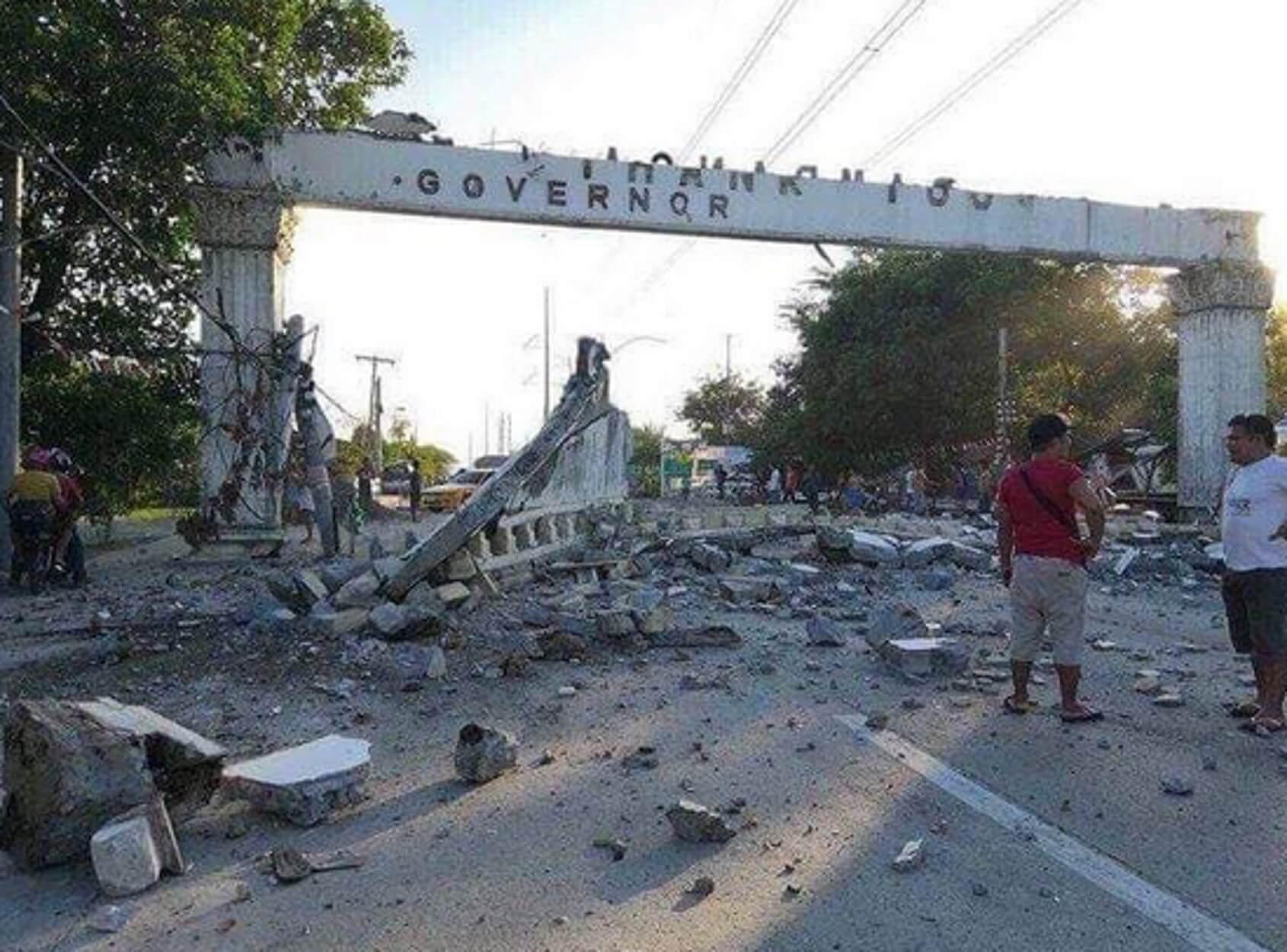 Φιλιππίνες – σεισμός: Εικόνες καταστροφής από τη φονική δόνηση! video