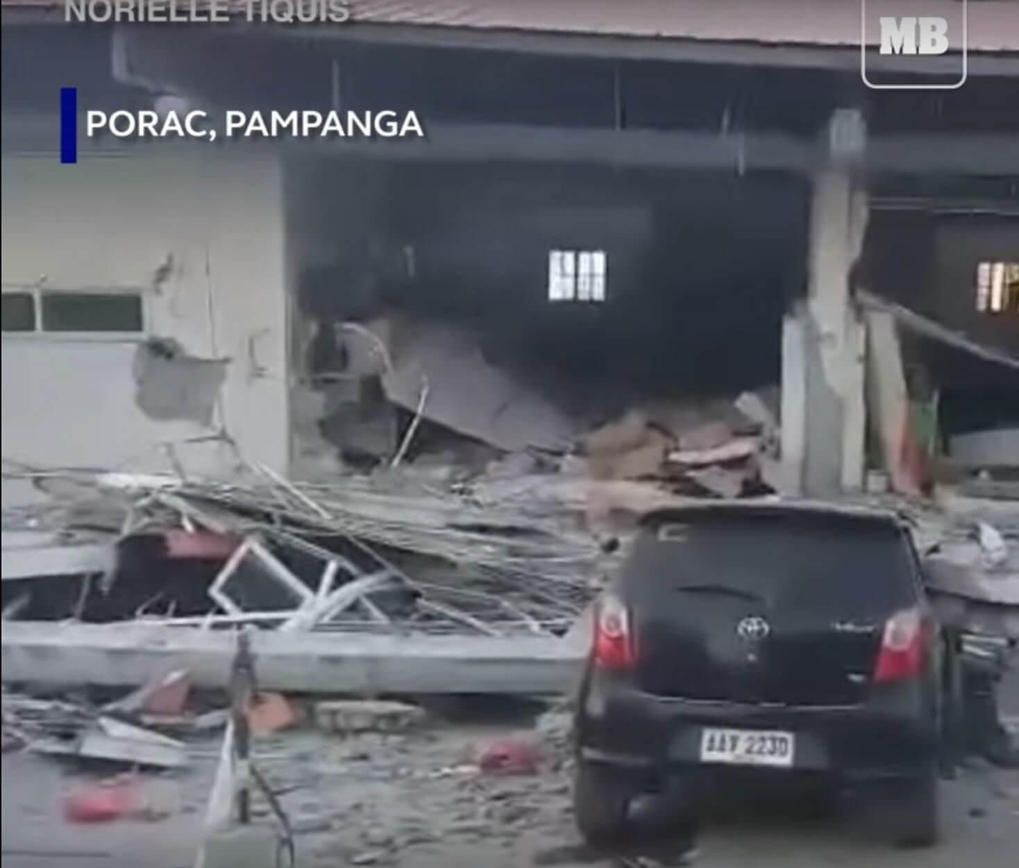 Φιλιππίνες: Δεκάδες παγιδευμένοι στα συντρίμμια κτιρίων που κατέρρευσαν από τα φονικά Ρίχτερ! video
