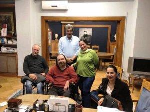 Συνάντηση Πολάκη – ΑμεΑ με νέες αιχμές για Κυμπουρόπουλο!