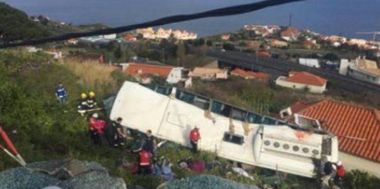 Τραγωδία στην Πορτογαλία! Πολλοί νεκροί σε ανατροπή λεωφορείου με τουρίστες!