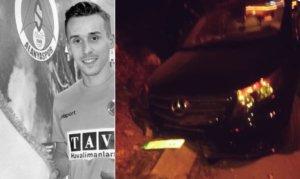 Θάνατος Σουράλ: Φωτογραφίες του μίνι-βαν με το οποίο σκοτώθηκε ο παίκτης της Αλάνιασπορ