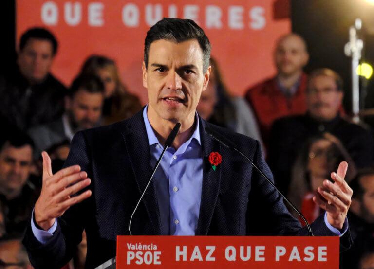 Ισπανία: Ο Σάντσεθ ζητά την «ανοχή» της κεντροδεξιάς για να σχηματίσει κυβέρνηση