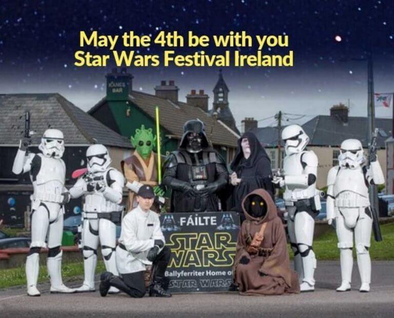 """Αυτοκινητόδρομος αλά """"Star Wars"""" στην Ιρλανδία! Video"""