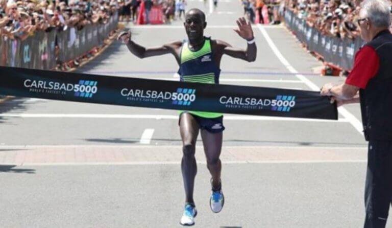 Εκπληκτικός Τσέσερεκ! Ισοφάρισε το παγκόσμιο ρεκόρ στα 5 χλμ.