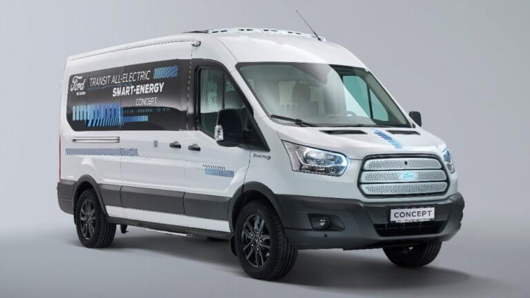 Ηλεκτρικό Ford Transit: Από του χρόνου στην παραγωγή