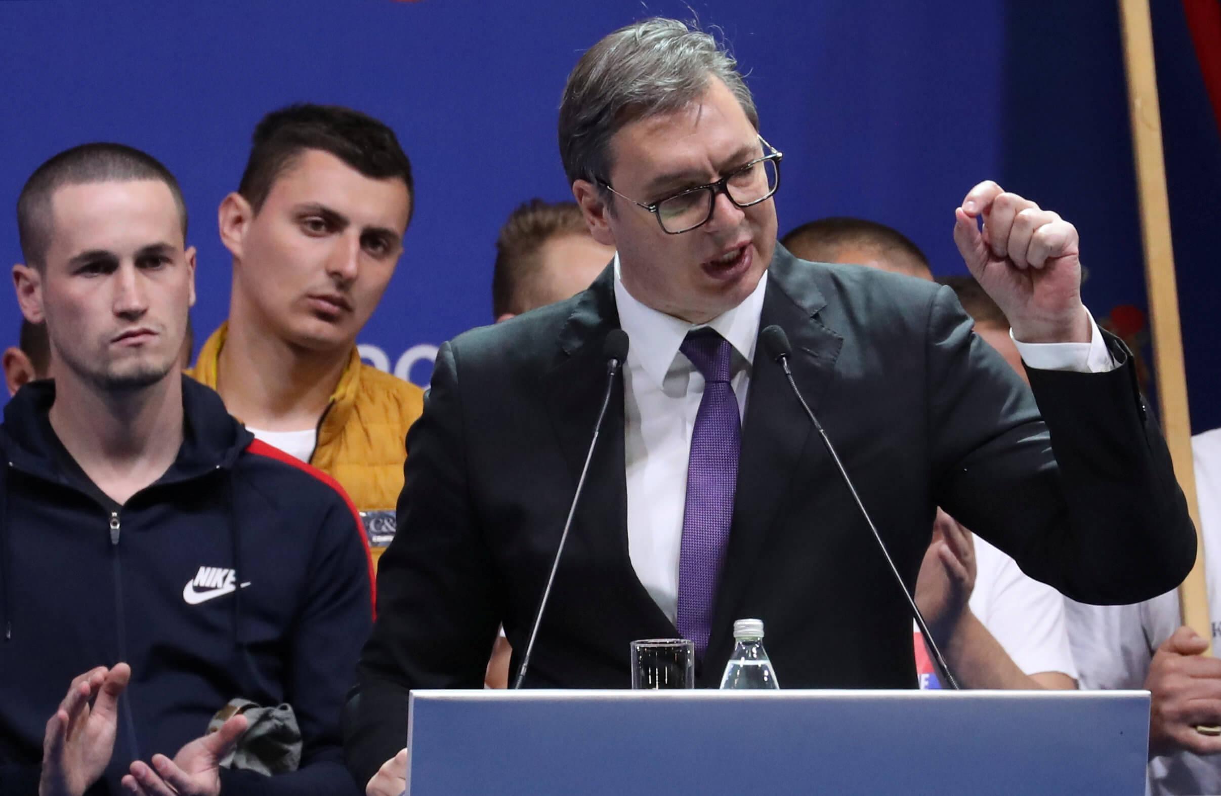 Πρόεδρος Σερβίας Βούτσιτς