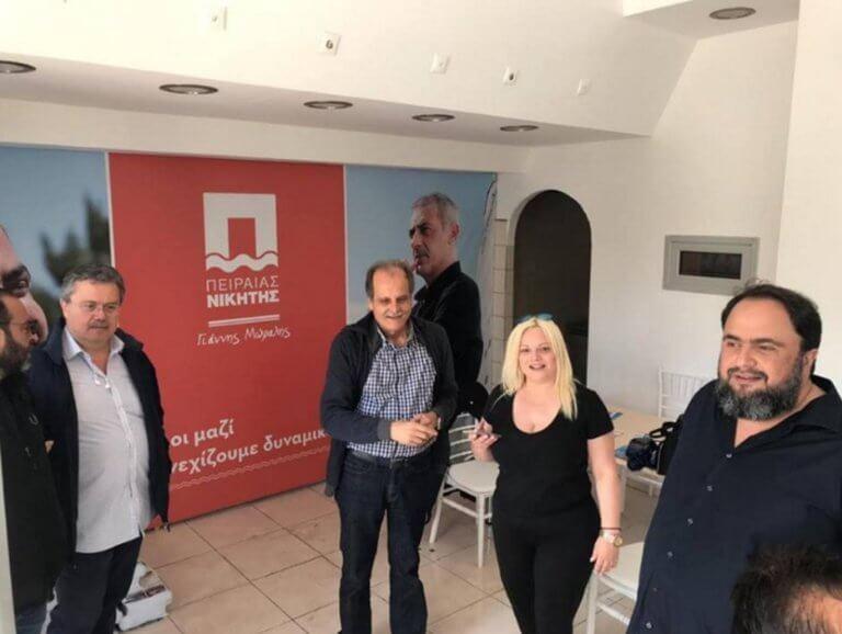 Δημοτικές εκλογές 2019: Ο Βαγγέλης Μαρινάκης περιόδευσε στο κέντρο του Πειραιά!