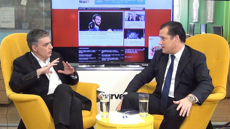 Εκλογές 2019 – Άδωνις Γεωργιάδης στο newsit.gr: Κοντά στο 10% η διαφορά στις ευρωεκλογές – video
