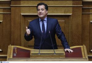 """Γεωργιάδης για Τσίπρα: Εγώ θα είμαι στα μανταλάκια με το """"άκουσα"""" και το """"πιστεύω"""" και εκείνος δε θα ελεγχθεί;"""