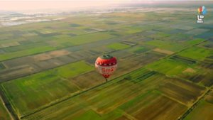 Drone «συνάντησε»… αερόστατο στον κάμπο της Κωπαΐδας – Εντυπωσιακό video