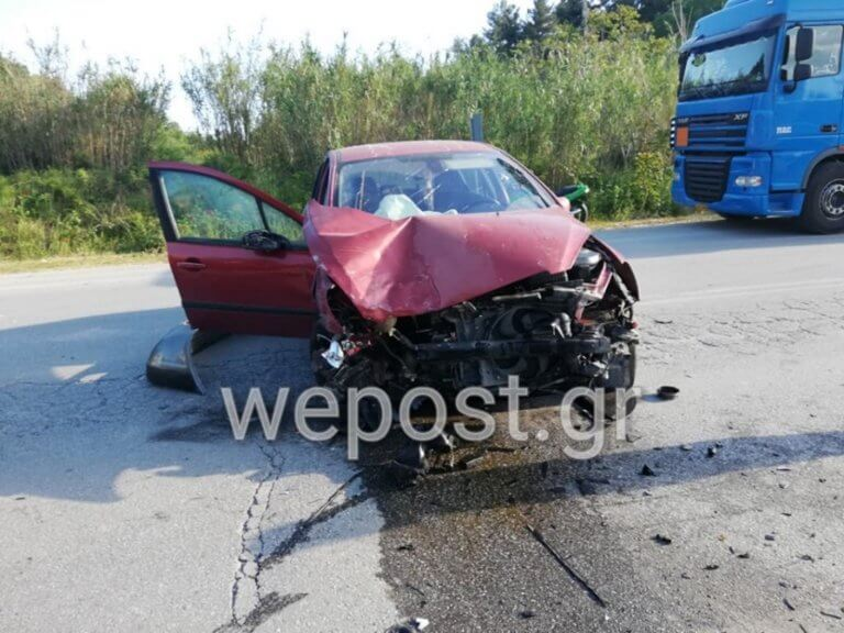 Θεσσαλονίκη: Τροχαίο με δύο τραυματίες