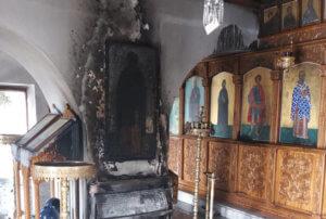 Κρήτη: Πήρε φωτιά εκκλησία παραμονή του Πάσχα!