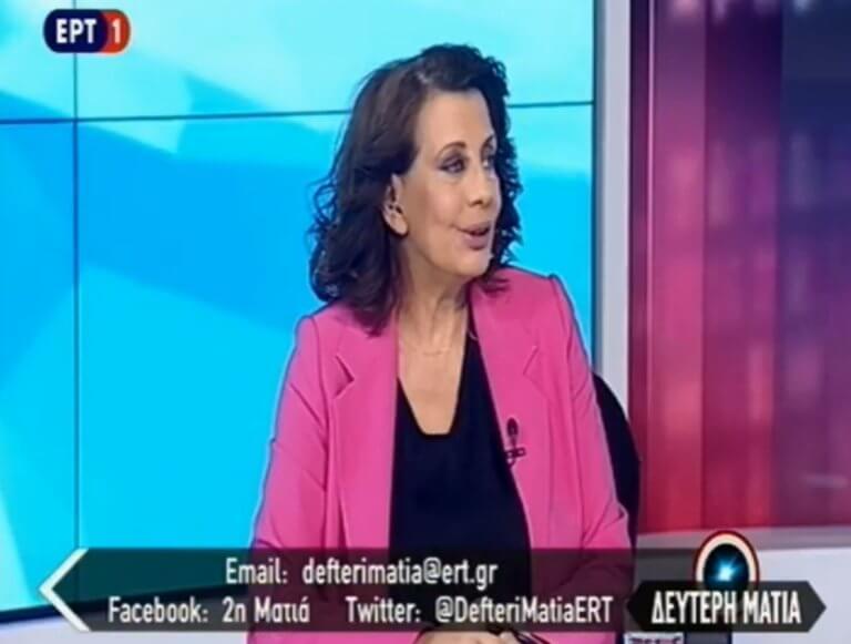 ΕΡΤ: Το αντίο της Ακριβοπούλου στον «αέρα»! video