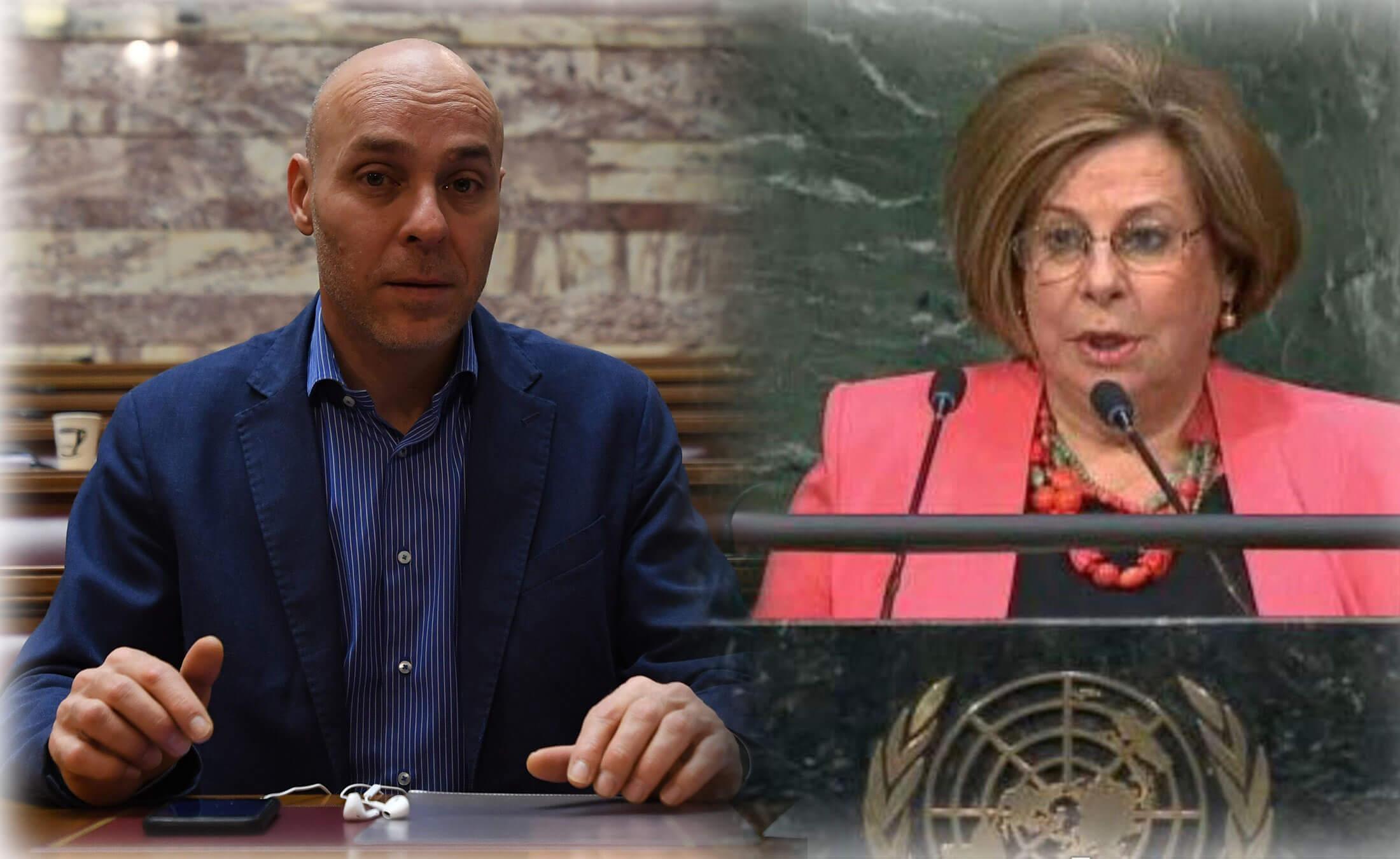 Γιώργος Αμυράς και Τέτα Διαμαντοπούλου στο ευρωψηφοδέλτιο της ΝΔ - Ψάχνουν... ακόμη μια γυναίκα