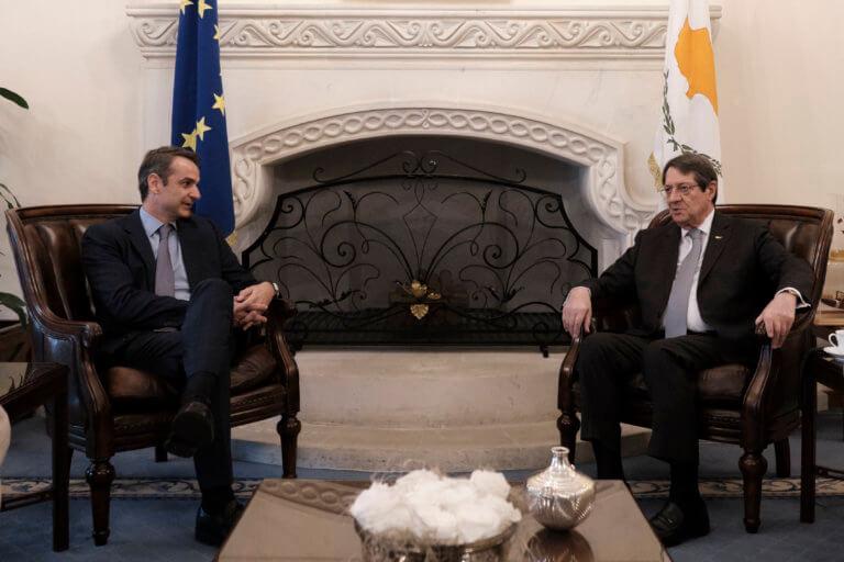 Μητσοτάκης: Αισιοδοξία για Κυπριακό και ευρωεκλογές