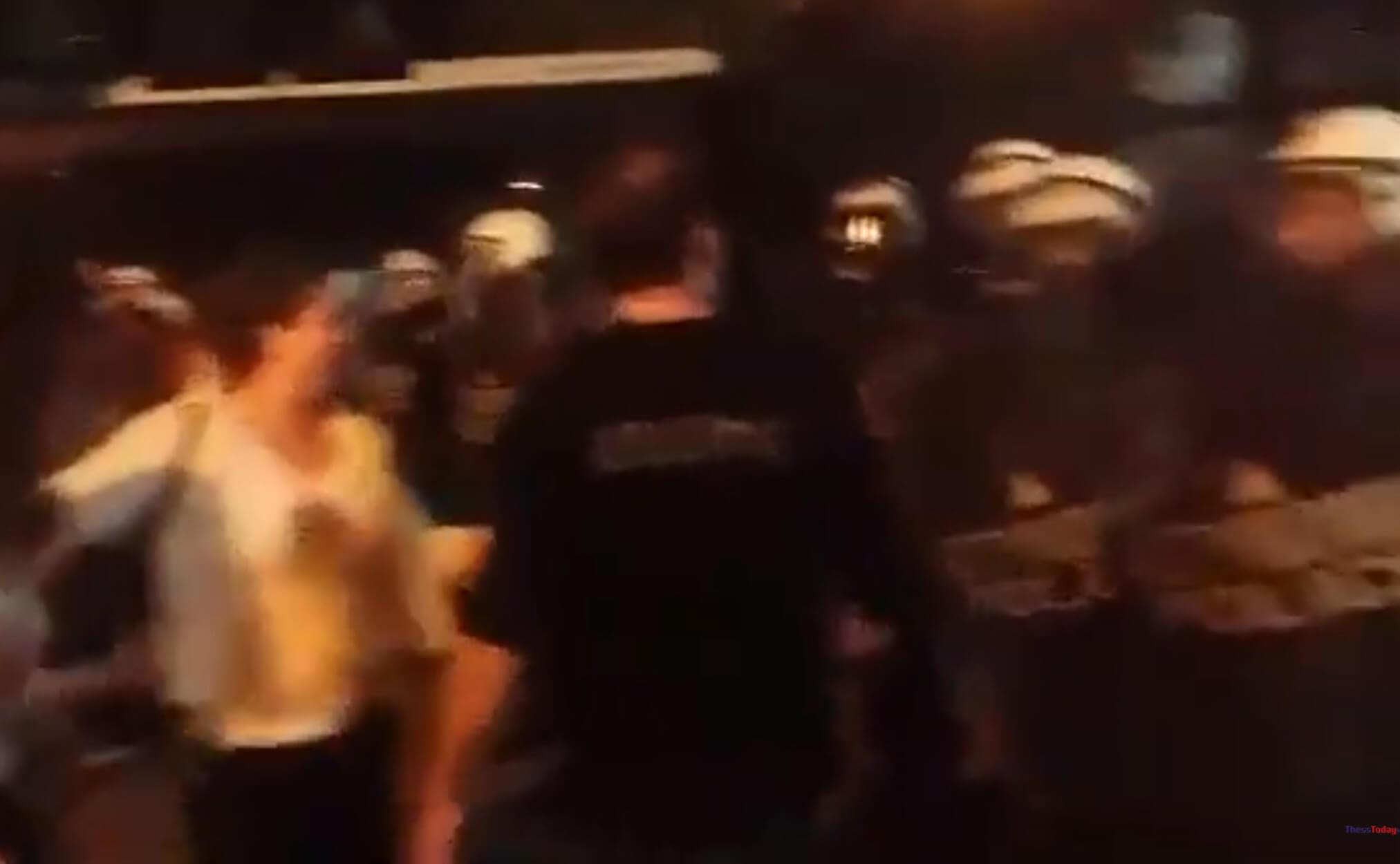 Θεσσαλονίκη: Ξύλο και χημικά στην πορεία των Αρμενίων – video