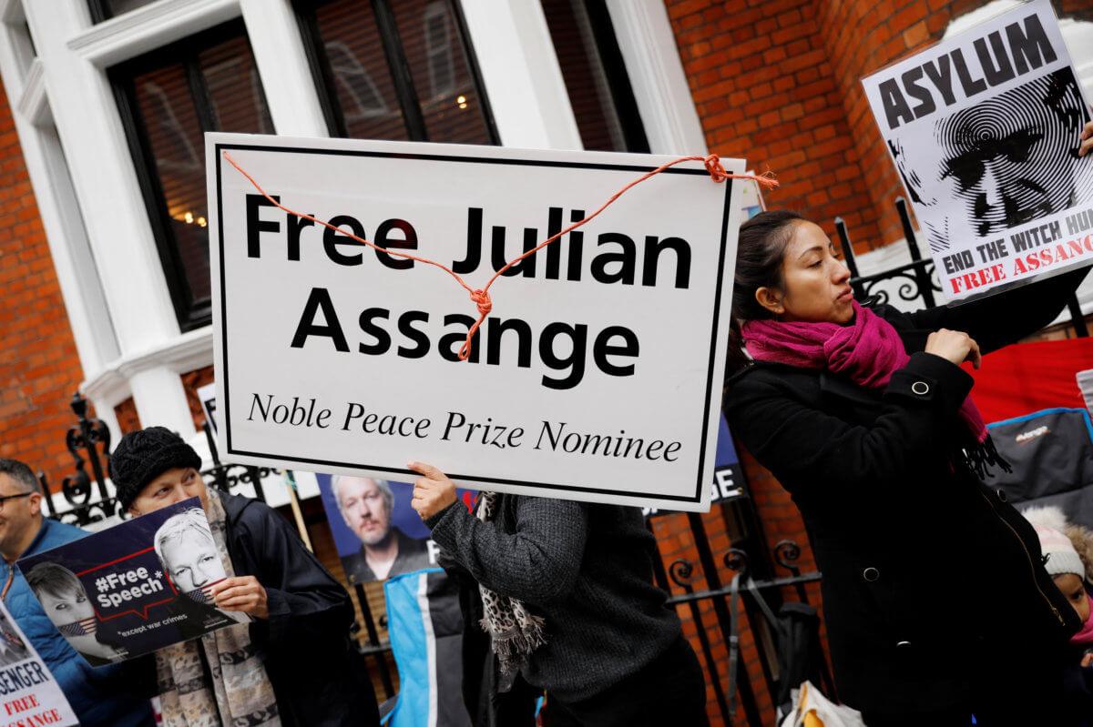 Τζούλιαν Ασάνζ: Αποκαλυπτικός, νο1 εχθρός των ΗΠΑ, συλληφθείς!