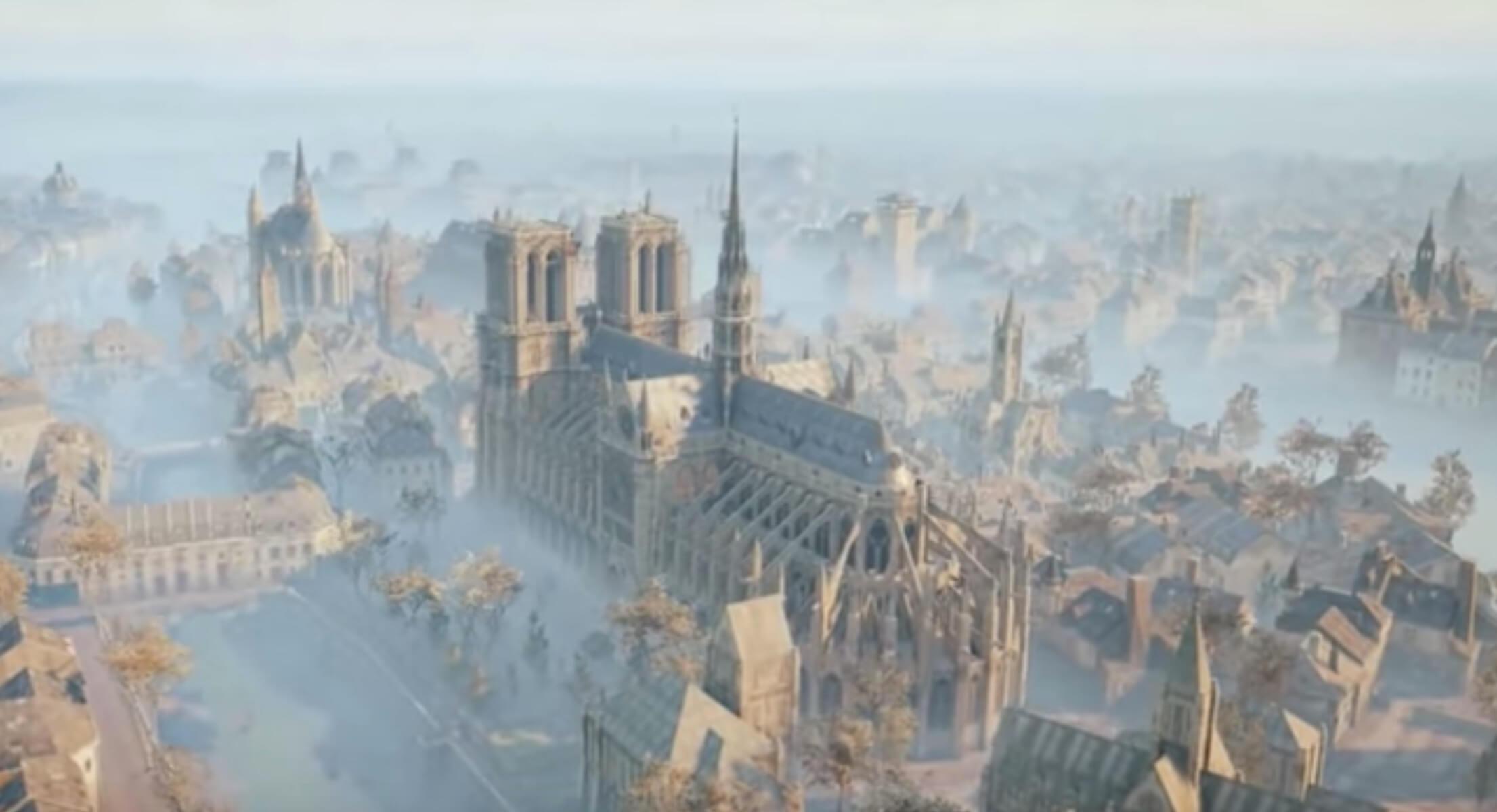 Παναγία των Παρισίων: Πως θα την σώσει ένα video game!