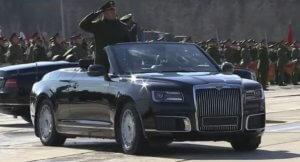 Aurus Convertible: Μια Rolls-Royce από τη… Ρωσία [vid]
