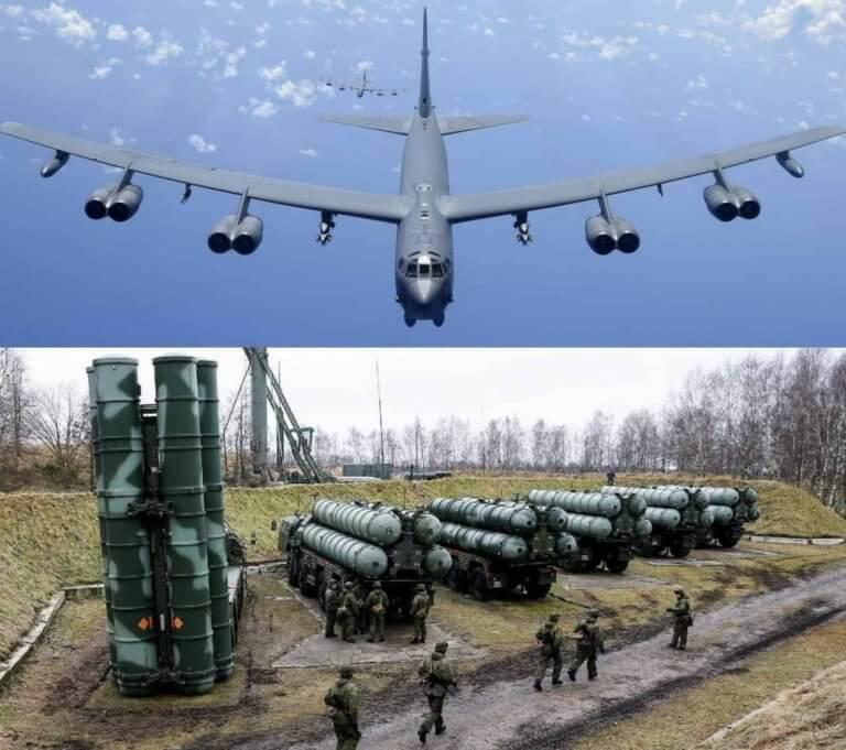 Οι ρωσικοί πύραυλοι S-400 αναμετρούνται με τα αμερικανικά βομβαρδιστικά B-52 – Ποιος θα νικήσει; [pics]