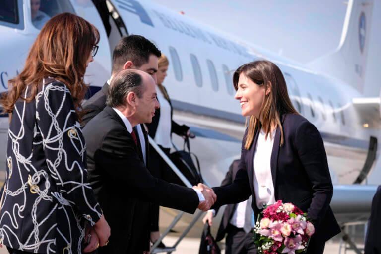 Μπέτυ Μπαζιάνα: Έκλεψε τις εντυπώσεις στα Σκόπια