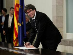 Ισπανία: «Άκυρο» στον Πουτζδεμόν για τις ευρωεκλογές!