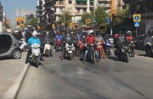 Θεσσαλονίκη: Στους δρόμους οι ντελιβεράδες – Απεργούν και απαιτούν για να μην υπάρξουν άλλα θύματα [pics, video]