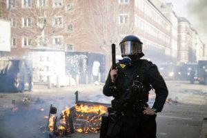 Δανία: 23 συλλήψεις σε αντιφασιστική διαδήλωση