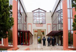 Λαμία: Τηλεφώνημα για βόμβα στα δικαστήρια – Στον αέρα η δίκη του Κορκονέα – Χάος στους δρόμους [pics]
