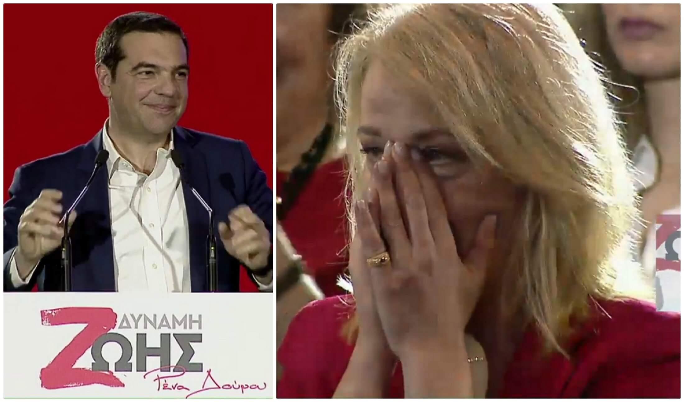 Παρουσία Τσίπρα η ανακοίνωση των υποψηφίων από τη Ρένα Δούρου