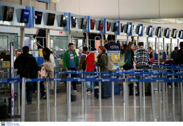 """Αύξηση στην επιβατική κίνηση τον Μάρτιο στο """"Ελευθέριος Βενιζέλος"""""""