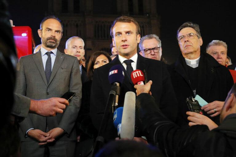 Παναγία των Παρισίων: Το κόμμα του Μακρόν αναστέλλει την καμπάνια για τις ευρωεκλογές