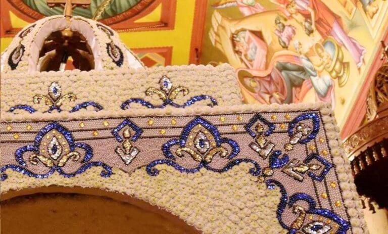 Χαλκιδική: Έργο τέχνης ο Επιτάφιος στην Ουρανούπολη – Ιδού το τελικό αποτέλεσμα μετά από ένα μήνα [pics]