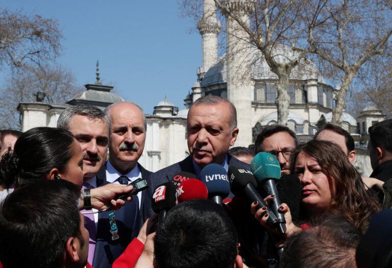Απτόητος ο Ερντογάν: Θα συνεχίζουμε το πρόγραμμά μας στην ανατολική Μεσόγειο