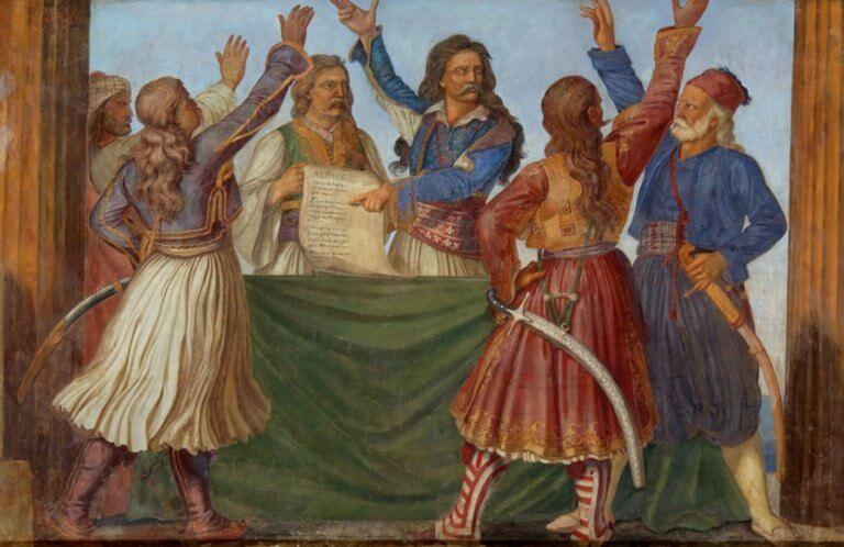 Γκαλλίνα: Ο Ιταλός που έφτιαξε ο πρώτο ελληνικό Σύνταγμα