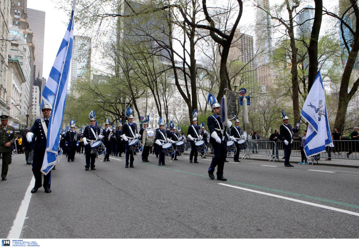 «Σείστηκε» η Νέα Υόρκη από τους εύζωνες της Προεδρικής Φρουράς [pics]