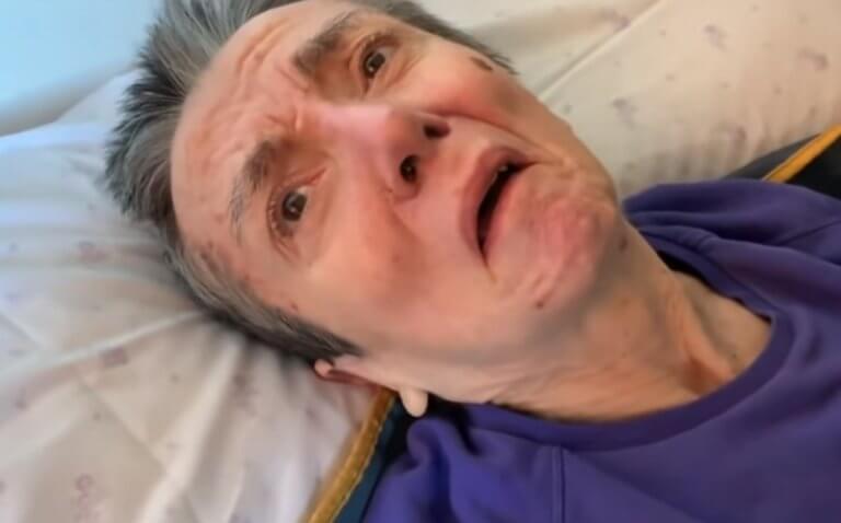 Ισπανία: Βίντεο σοκ! Η σύζυγός του τον εκλιπαρεί να την βοηθήσει να πεθάνει!