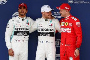 Formula 1: «Πάρτι» Mercedes! Pole position για Μπότας, δεύτερος ο Χάμιλτον