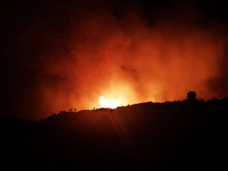 Οικολογική καταστροφή στο δάσος της Στροφυλιάς – Στάχτη πάνω από 2.000 στρέμματα! | Newsit.gr